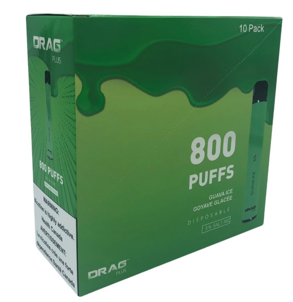 Drag Plus 800 Puffs Disposable Device