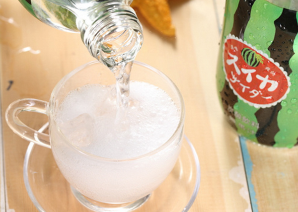 Tomomasu Watermelon Carbonated Drink 300 mL