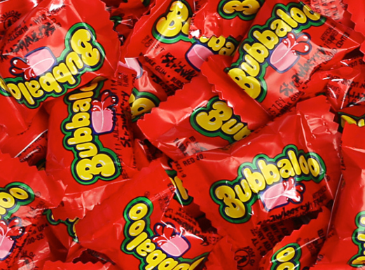 Bubbaloo Liquid Filled Bubble Gum