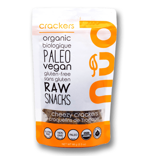 Nud Fud Organic Raw Crackers