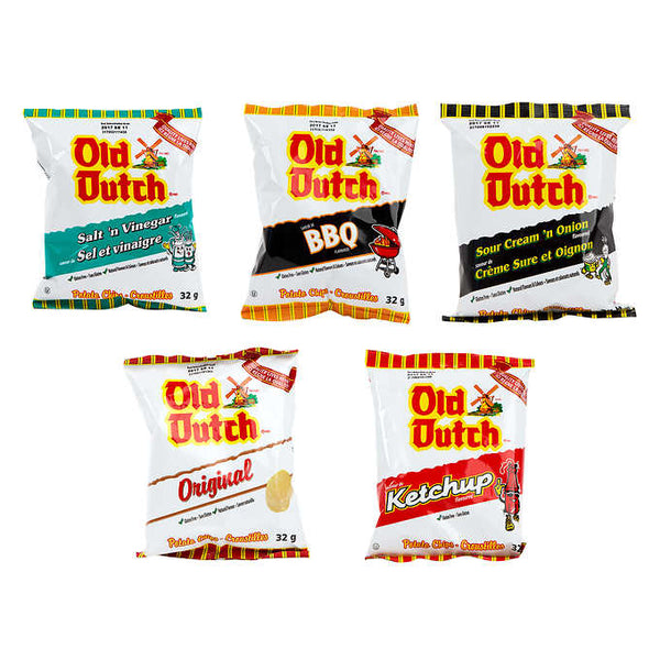 Old Dutch Variety Chips