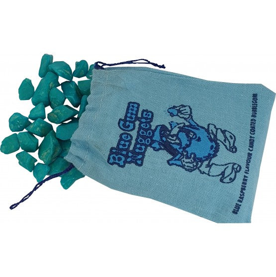UK Gum Nuggets - Blue Raspberry