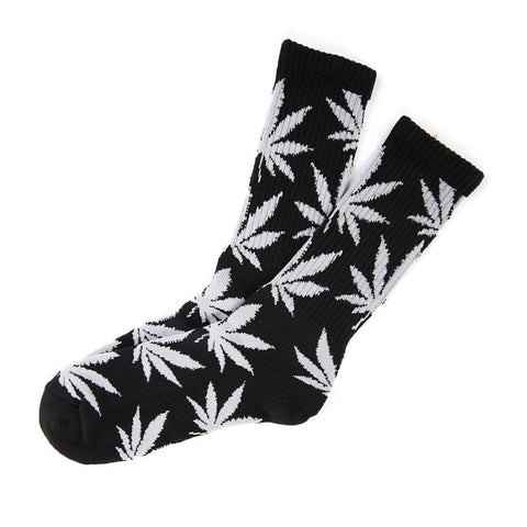 Black & White Weed Socks