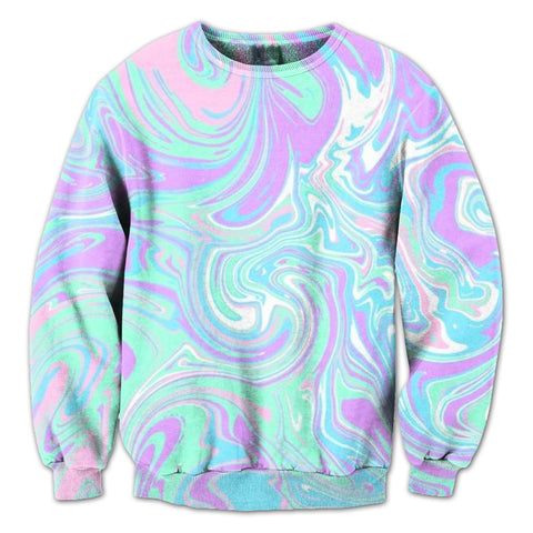 90s Waves Crewneck