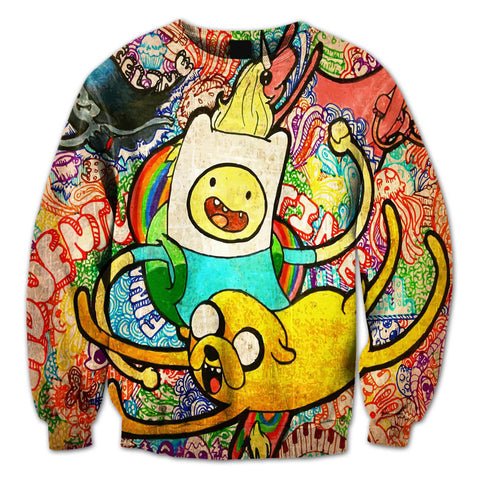 Adventure Time Crewneck