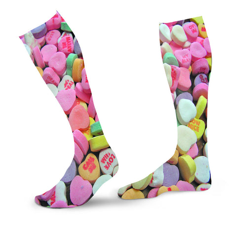 Candy Hearts Socks