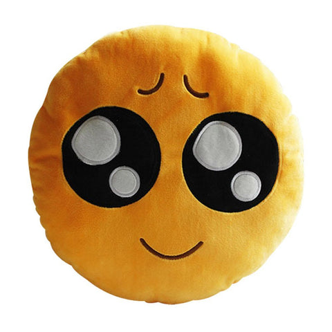 Cute Eyes Emoji Pillow