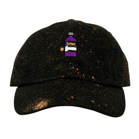 Black Speckled Syrup Dad Polo Hat