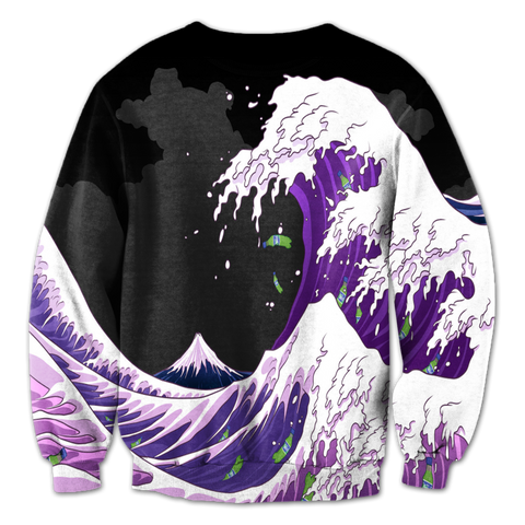 Lean Waves Crewneck
