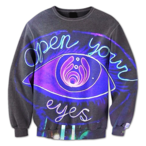 All Seeing Eyes Crewneck