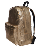 Limited Gold Leather Backpack