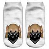 Bandana Monkey Socks