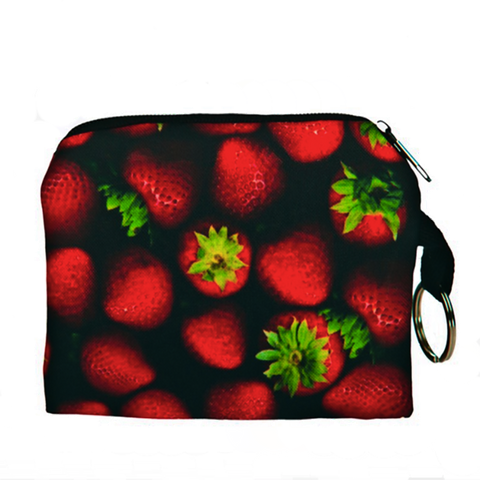 Strawberries Coin Purse