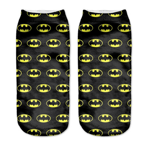 Batman Collage Socks