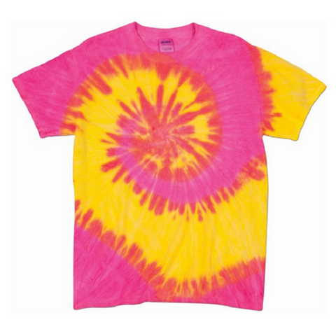 Custom Pink Mind Tie Dye T Shirt