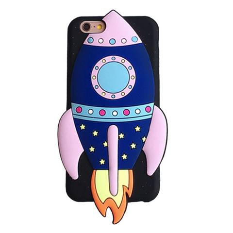 Rocket Ship Phone Case