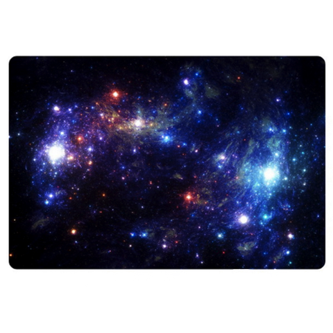 Blue Galaxy Doormat Carpet