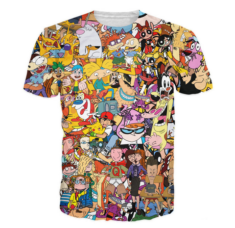 90s Cartoon T Shirt