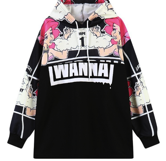 Dope Ariel Harajuku Hooded Jacket