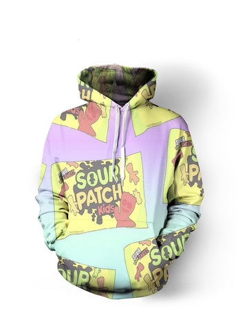 Sour Patch Collage Hoodie