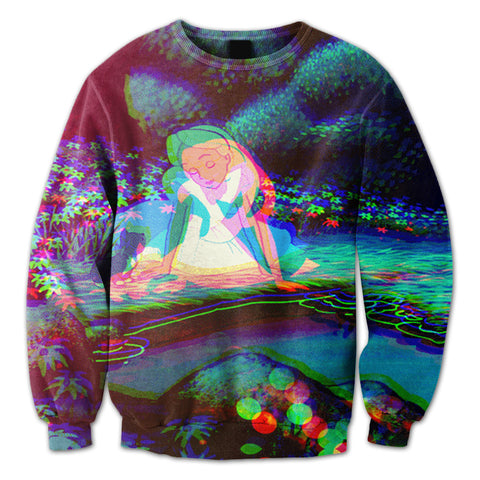 Alice Wonderland Crewneck