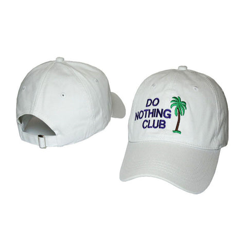 Do Nothing Club Dad Hat