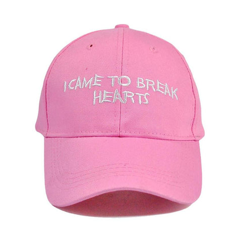I Came to Break Hearts Dad Hats