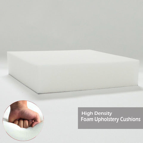 UK Best High Density Upholstery Foam Cushions Best For Sofa, Chair, Bench Seat Pad, Replacement - 365 Online Shopping UK