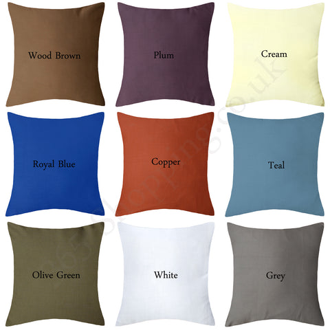 "Plain Cushion Cover For Sofa, Chair, Car and Bedding Use, 3 Size(14""x14"" , 16""x16"" , 18""x18"") - Online Shopping UK"