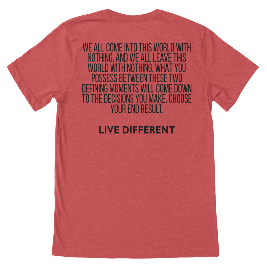 """Live Different"" Tee"