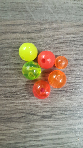 Plastic Rigging Beads