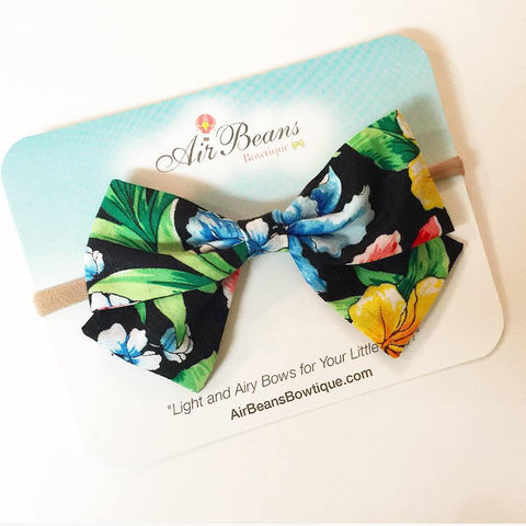 "*Clearance* Oversized Madelyn Bow in ""'Aloha"""