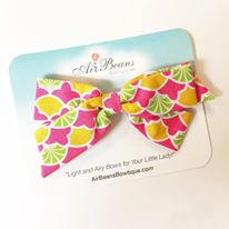 "*Clearance* Oversized Emilia Bow in ""Fruit Punch"""