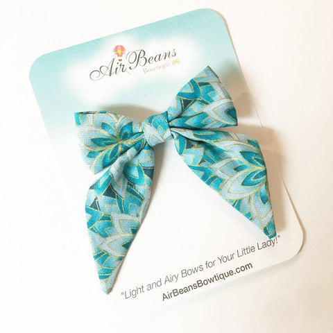 "*Clearance* Delilah Bow in ""Mermaid Scales"""