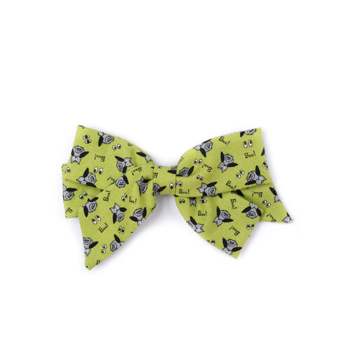 "*Clearance* Oversized Emilia Bow in ""Boo"""