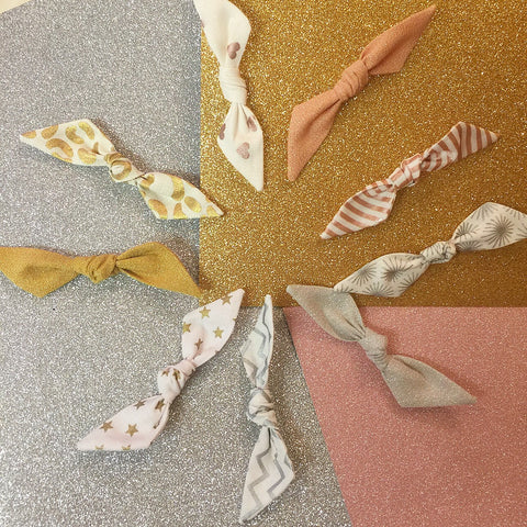 All That Glitters Collection // Piper Bows
