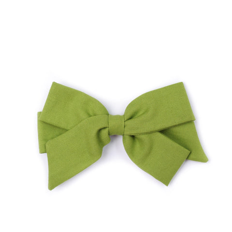 "Oversized Emilia Bow in ""Chartreuse"""