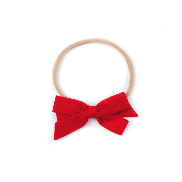 "Emilia Bow in ""Classic Red"""