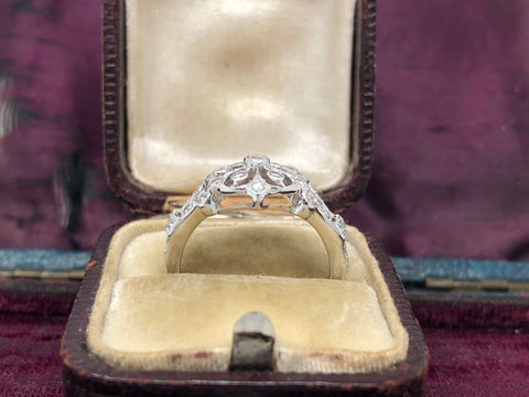 18ct Gold Diamond Dress Ring by Luke Stockley