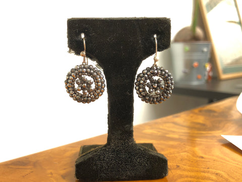 Georgian Cut Steel Earrings