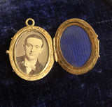 Victorian 6 frame family multi locket in 14ct Gold
