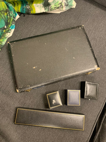 Selection of Vintage and Antique Jewellery Boxes and Cases