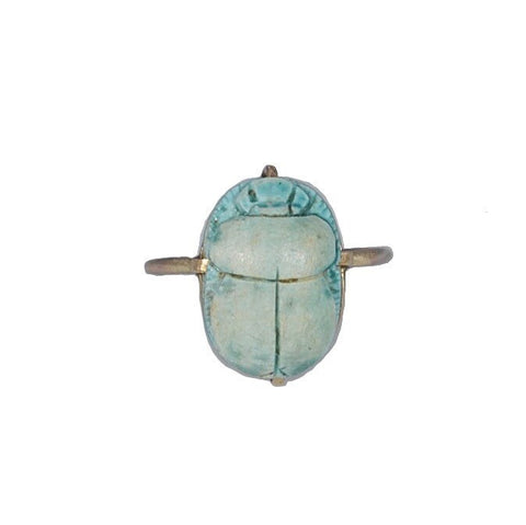 IxHcollab stunning Ancient Egyptian New Kingdom scarab conversion ring