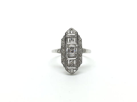 Art Deco 1930's Diamond Ring