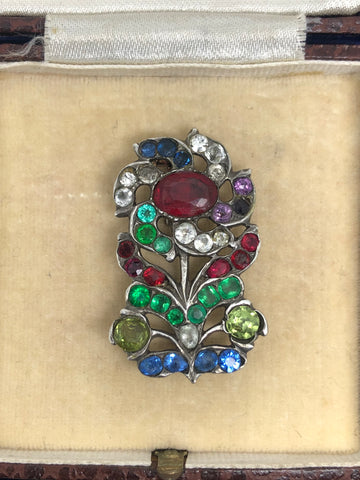 Reserved! Part 1/2 18th Century Paste Flower Brooch