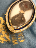 Mary Frances Lady Rich Mourning Brooch