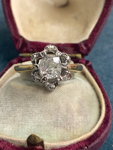 Reserved 18ct Diamond Solitaire 0.70ct Ring