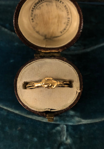 Georgian Fede Gimmel Ring
