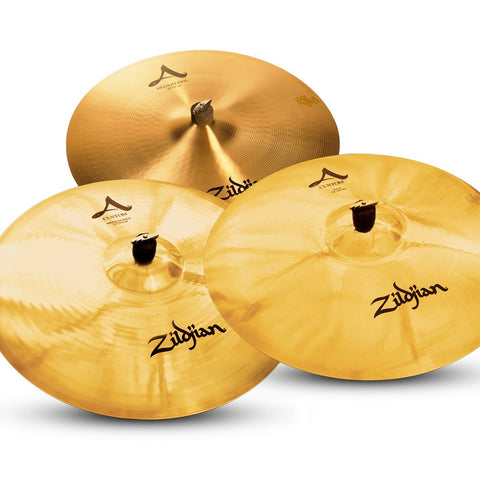 The Zildjian Ride Cymbals from