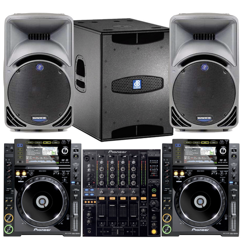 The Pioneer DJ Pack & 2.1 PA